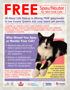Final Free Spay and Neuter Program